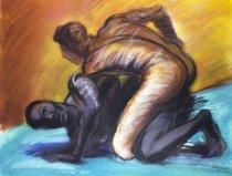Image of Almaraz, Carlos - Struggle of Mankind