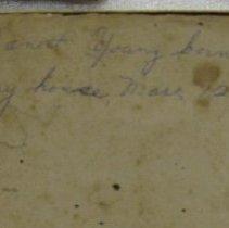 Image of Book - inscription close-up