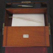 Image of Lap desk - compartment open