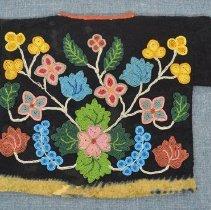 Image of Child's Beaded Jacket - back