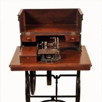 Image of Sewing Machine - open