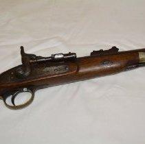 Image of Rifle - breechloader close-up