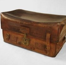 Image of Leather travel case