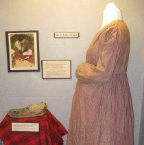 Image of Wrapper dress on exhibit (Jane's World)