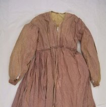 Image of Wrapper or maternity dress - full