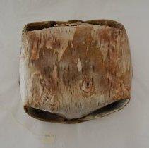 Image of Birtchbark basket - bottom