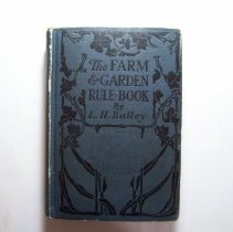 Image of The Farm and Garden Rule Book - L.H. Bailey