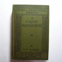 Image of Farm Management - G.F. Warren