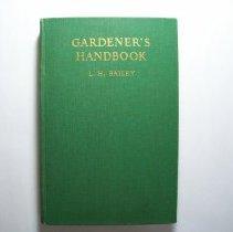 Image of Gardener's Handbook - Liberty Hyde Bailey