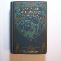 Image of Manual of Milk Products - William A. Stocking