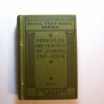 Image of The Principles and Practice of Judging Live - Stock - Carl Warren Gay