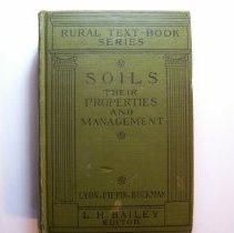 Image of Soils their Properties and Management - T. Lyttleton Lyon, Elmero. Fippin, Harry O. Buckman