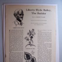 Image of Liberty Hyde Bailey, The Builder - E. Laurene Palmer