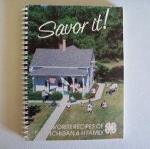 Image of Savor it!: Favorite Recipes of the Michigan 4-H family -