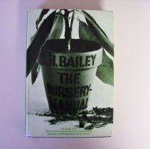 Image of The Nursery Manual - Liberty Hyde Bailey