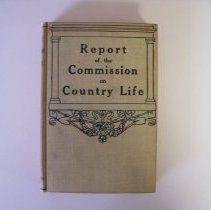Image of Report of the Commission on Country Life -