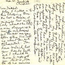 Image of letter 3 31 1940 p 1 of 2