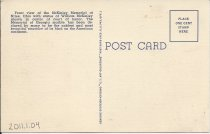 Image of Back of Post card