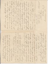 Image of back of letter