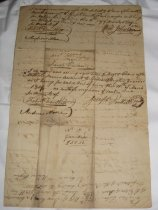 Image of back of contract