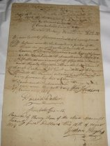 Image of front of contract