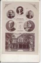 Image of front of souvenir card