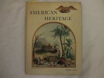 """Image of The book is titled """"American Heritage"""" published by James Parton and edited by Bruce Catton in 1959. The book contains an article detailing President McKinley's front porch campaign.  - Book"""