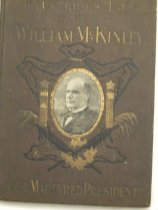 Image of biography of Wiliam McKinley - Book