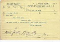 Image of 2010.1.1850 - telegram