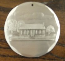 Image of Edwards House Christmas ornament front