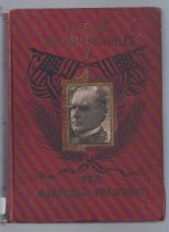Image of International Memorial Edition of a biography of McKinley - Book