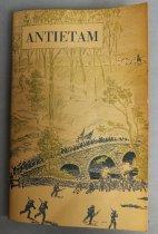 Image of Antietam booklet front