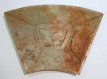 Image of Chinese Qing (Manchu) Dynasty (1644-1911) soapstone plate