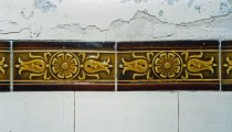 Image of Art Nouveau Ceramic Tile at Gourock