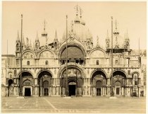Image of St Mark's Cathedral in St Mark's Square, Venice