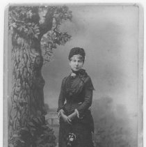 Image of Carte de Visite Portrait of Georgina Sullivan Jones - undated