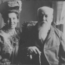 Image of Marion Jones Farquhar and Senator John P. Jones - undated