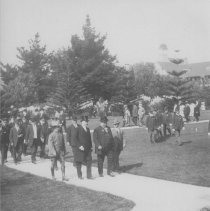Image of President Taft at the Soldiers Home - early 1900s