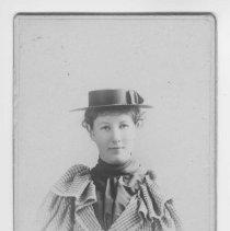 Image of Calling Card Portrait of Miss Cornelia Hamilton - undated