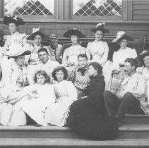 Image of Jones Family Portrait at Miramar - undated