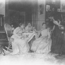 Image of Taking Tea at the Miramar - undated