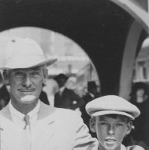 Image of Portrait of Robert D. Farquhar and His Son - undated