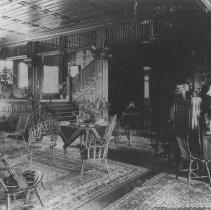 Image of The Interior of the Miramar - undated