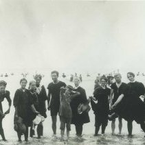 Image of At the Beach in 1910 - 1910