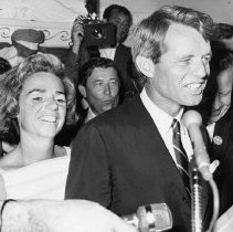 Image of Senator Robert and Ethel Kennedy - 1968/6/5