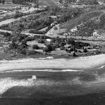Image of Aerial View of Adamson House in Malibu - 1966/09/23