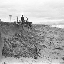 Image of Storm Erosion on a Santa Monica Beach - 1975/03/08