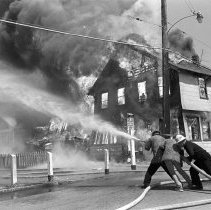 Image of Fire in Venice - 1964
