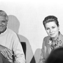 Image of Grace Kelly and Cary Grant - 1971