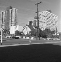 Image of Old and New Architecture in West Los Angeles - 1965/01/12